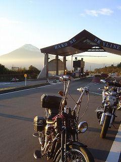 箱根スカイラインと富士山