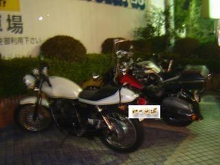 出迎えバイク2