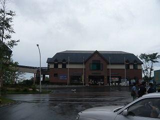 道の駅草津で雨宿り
