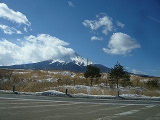 富士山と平野