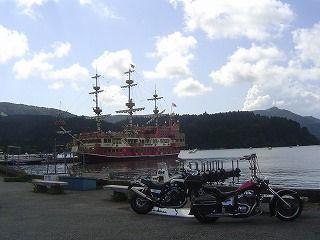 海賊船とSTEEDとV-MAX