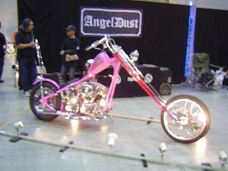 ピンク色チョッパー