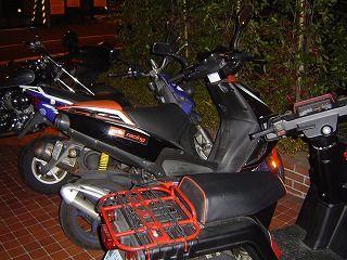 バイク3台