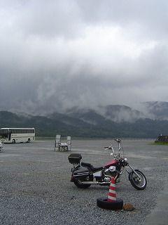 スティードと宇曾利山湖