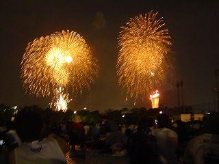 東京湾花火大会12