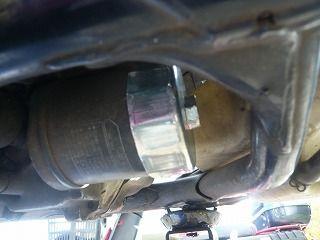スティードエンジンオイル交換 (6)