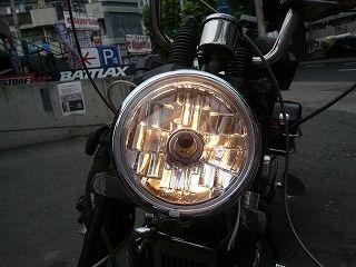 新品ヘッドライト