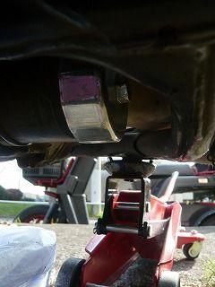 スティードエンジンオイル交換 (5)