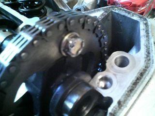 エンジン内部の螺旋