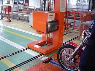 光軸検査機械