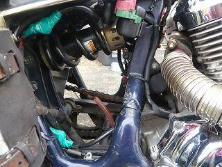 スティードエンジンオイル交換 (17)