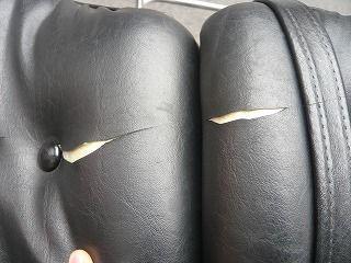 切り裂かれたシート2