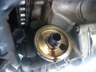 スティードエンジンオイル交換 (11)