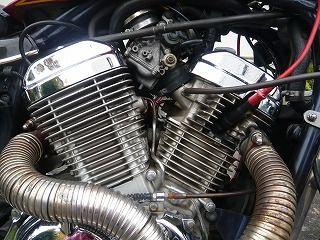 スティードエンジンオイル交換 (16)