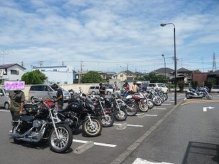 上尾マック駐車場
