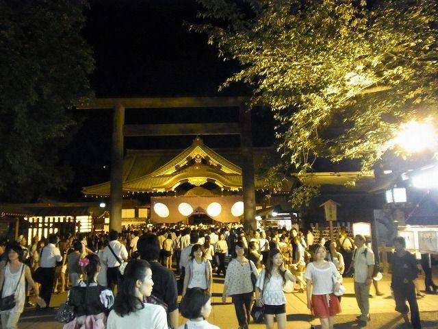 靖国神社みたままつり2011 (13)