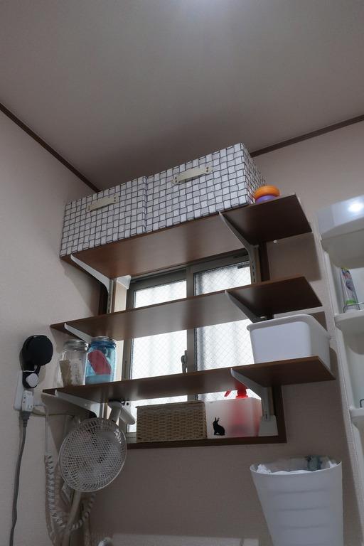 脱衣所の棚 (6)