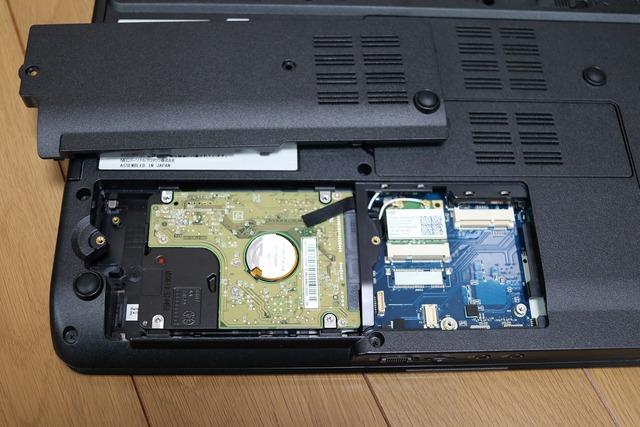 SSDに換装 (2)