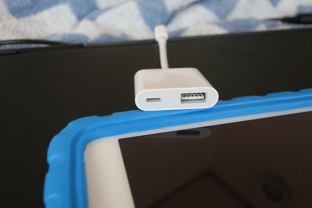 Lightning USB-3 カメラアダプタ (3)