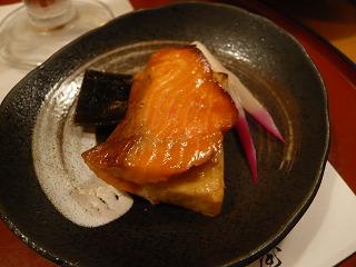 鮭と麩の挟み焼き