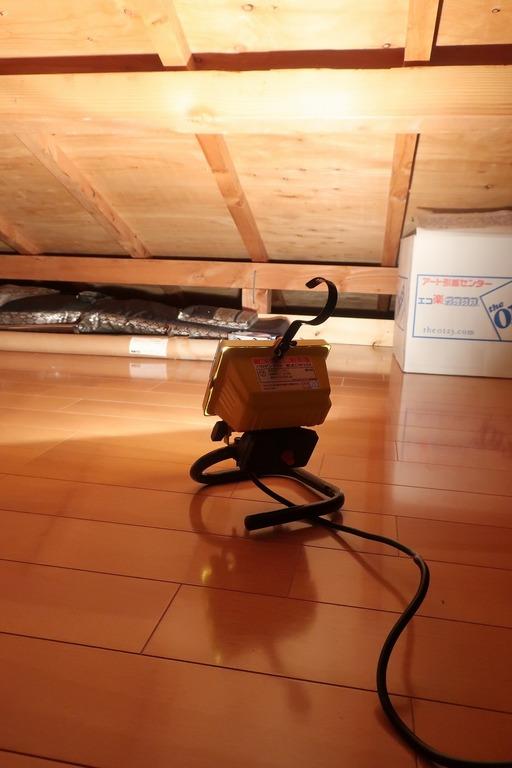 屋根裏収納をカスタム (5)