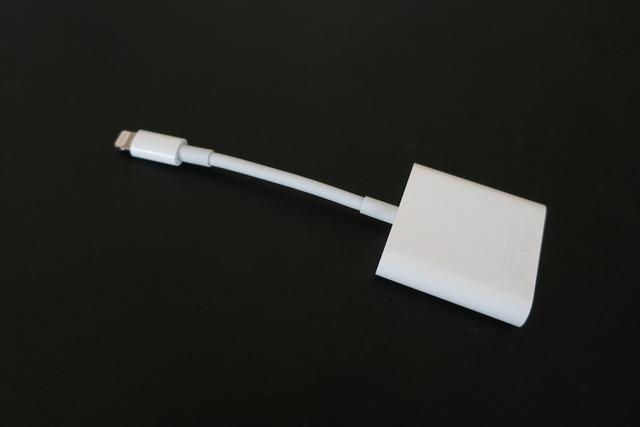 Lightning USB-3 カメラアダプタ (2)