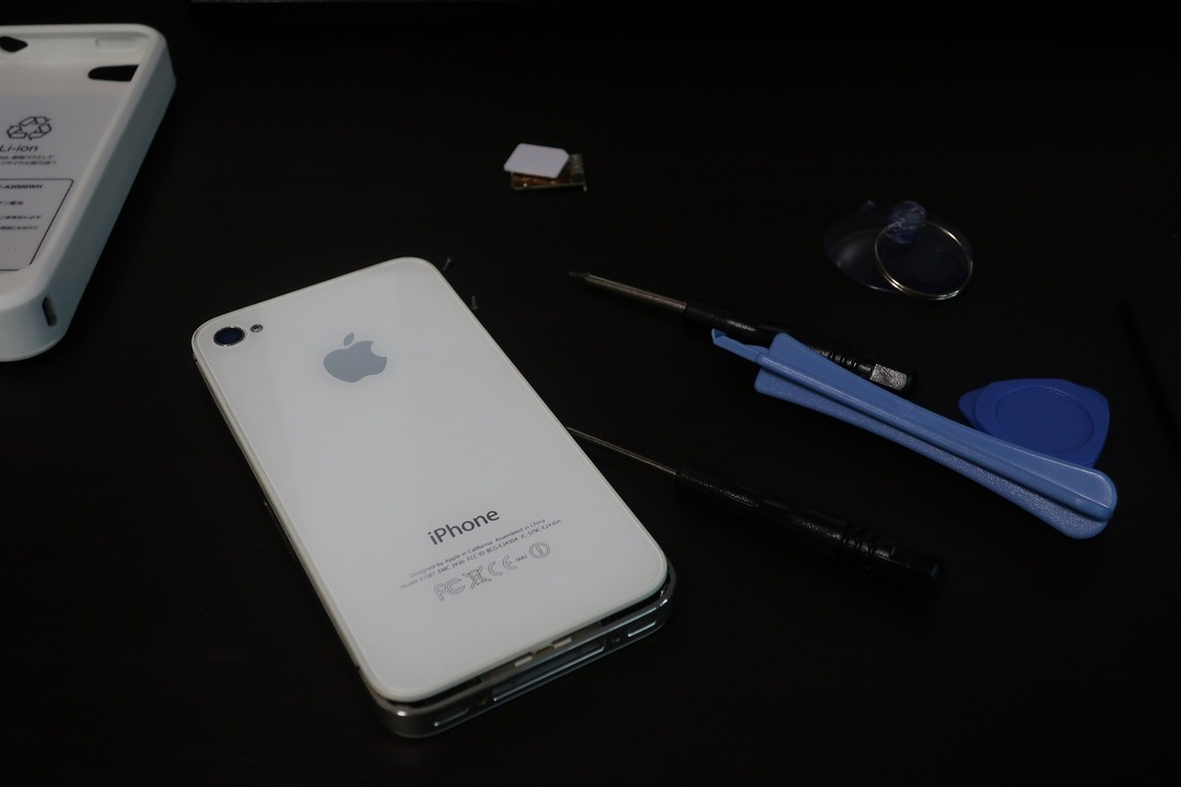 iPhone4sのバッテリー交換 (8)