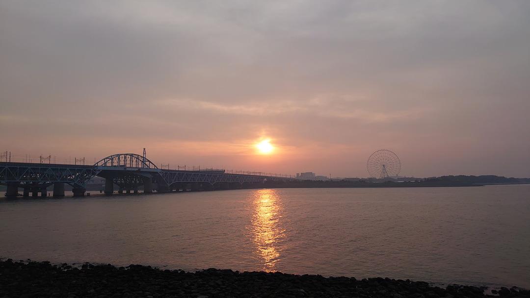 朝焼けの散歩道 (9)