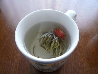 花入り茉莉仙桃