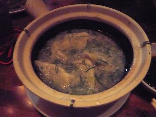 トンコツスープ餃子