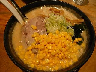 札幌味噌ラーメン+コーン