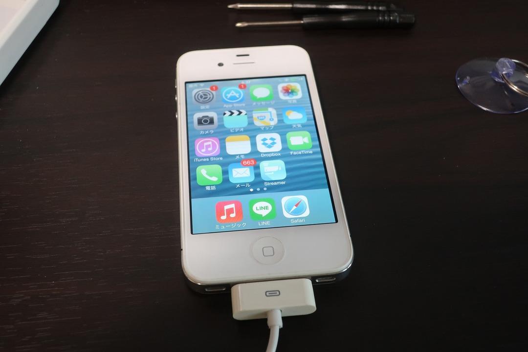 iPhone4sのバッテリー交換 (17)