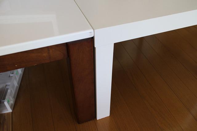 ikeaテーブル (2)