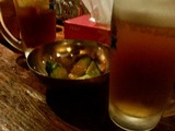 きゅうりと生ビール