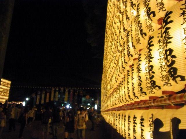 靖国神社みたままつり2011 (8)