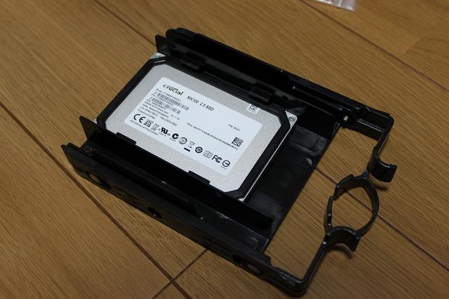 レイトレックをSSD換装 (5)