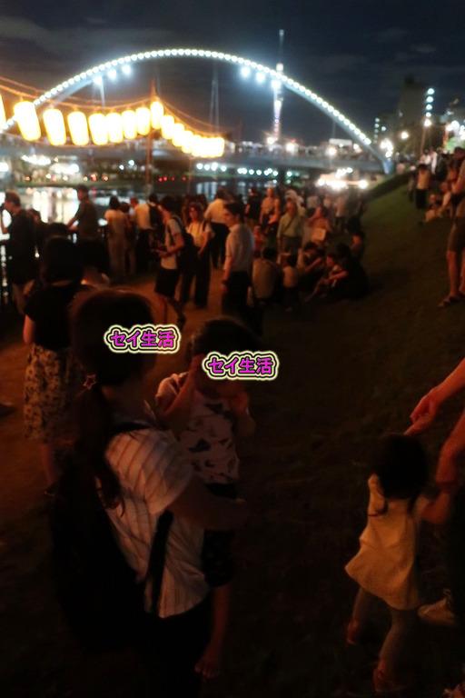 旧中川灯篭流し (3)