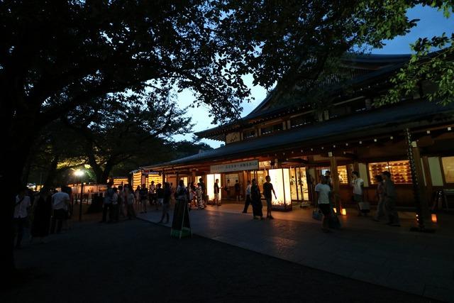 靖国神社みたままつり (24)