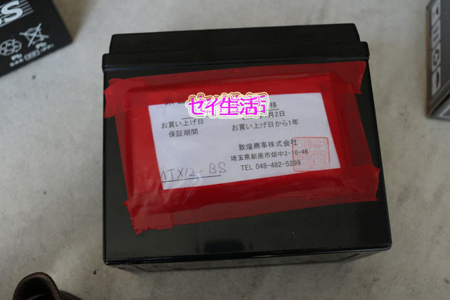 フュージョンバッテリー交換 (9)