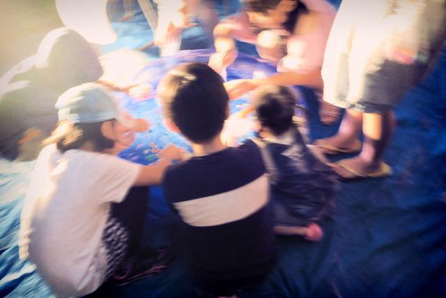 雨の盆踊り (4)
