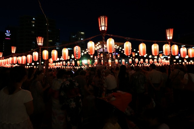 築地本願寺盆踊り (3)