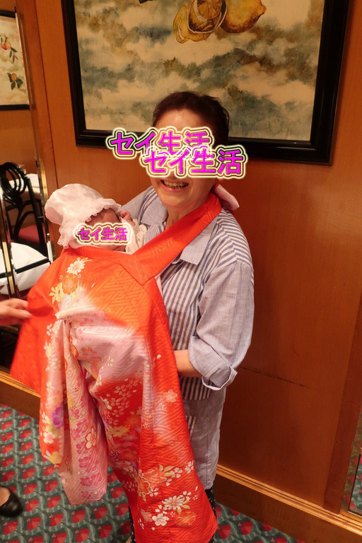 お宮参りで水天宮 (7)