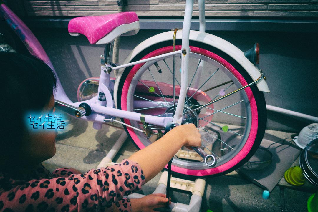 自転車遊び (2)
