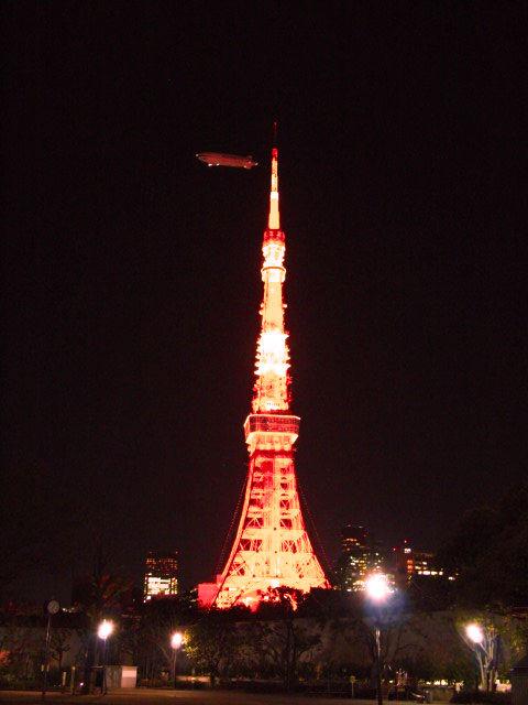 東京タワーとツェッペリン