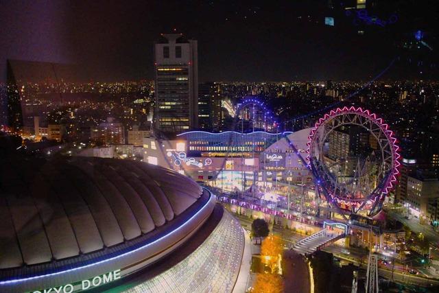 東京ドームホテルとラクーア (10)