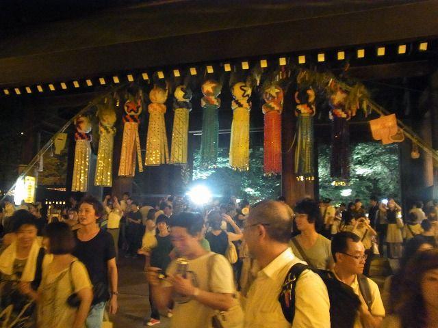 靖国神社みたままつり2011 (11)