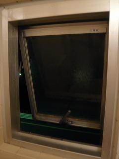 風呂トイレの窓