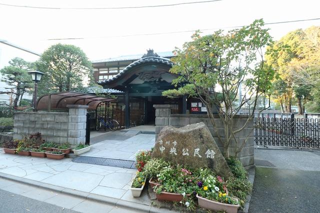 葛飾八幡宮参道 (1)