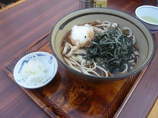 釜揚げそば(太麺)