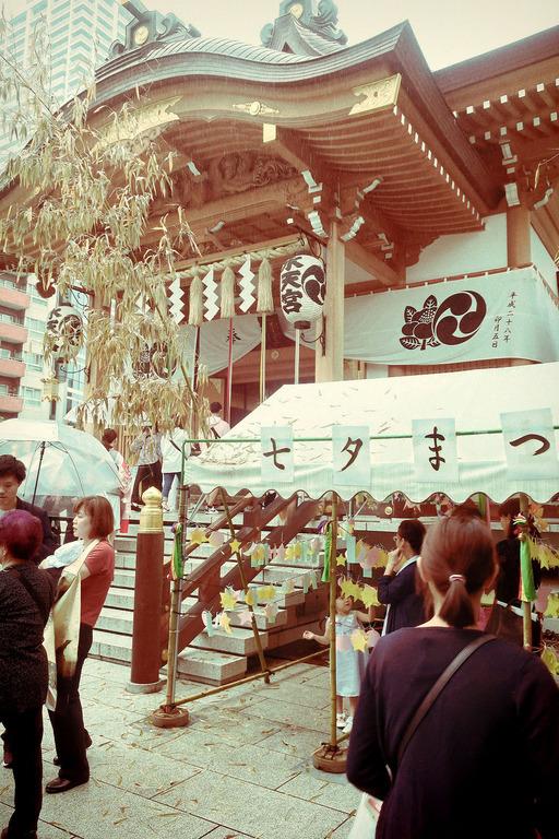 お宮参りで水天宮 (3)